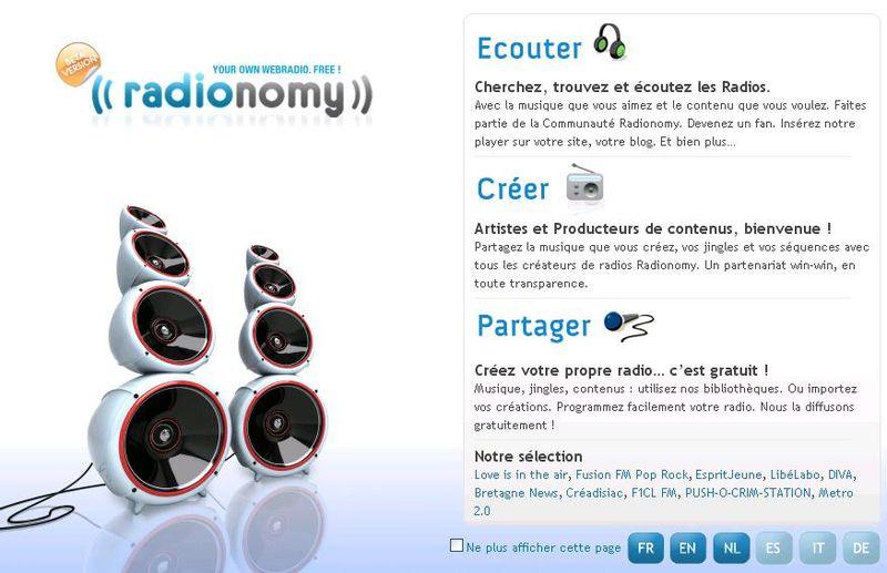 Radionomy page 1