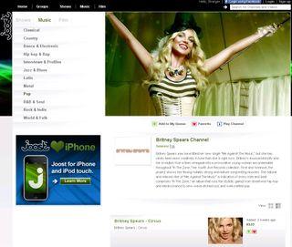 Britney sur Joost