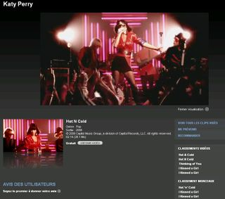 Katy Perry iTunes