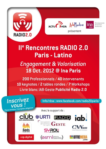 Le programme radio 2.0
